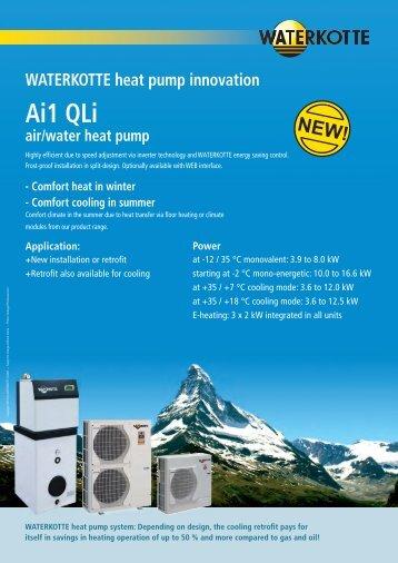 Ai1 QLi air/water heat pump