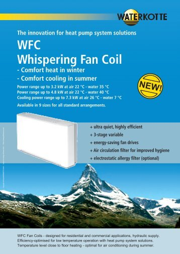 WFC Whispering Fan Coil