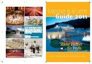 Zielgruppe: Touristen und Geschäftsreisende. - bei Messe & Event