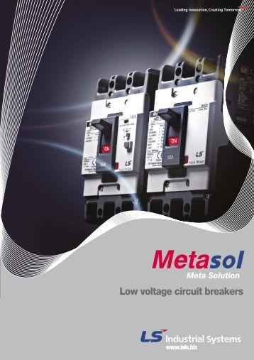 Low voltage circuit breakers