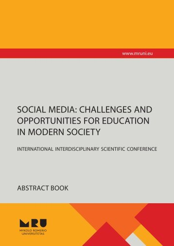 SOCIAL MEDIA: CHALLENGES AND OPPORTUNITIES FOR ...