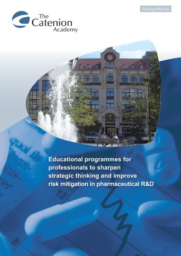 Download the brochure - The Catenion Academy