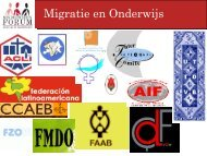 Migratie en Onderwijs