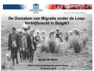 De Oorzaken van Migratie onder de Loep