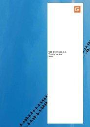 ČEZ Distribuce a s Výroční zpráva 2006