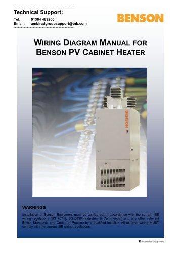 wiring diagram 20 45 292 wiring diagram manual benson pv cabinet heater