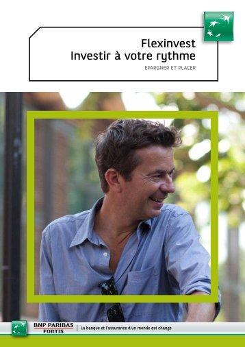 Flexinvest Investir à votre rythme