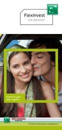Flexinvest Brochure (pdf) - BNP Paribas Fortis