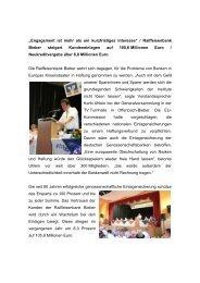 Generalversammlung am 18. Juni 2013 - Raiffeisenbank eG ...