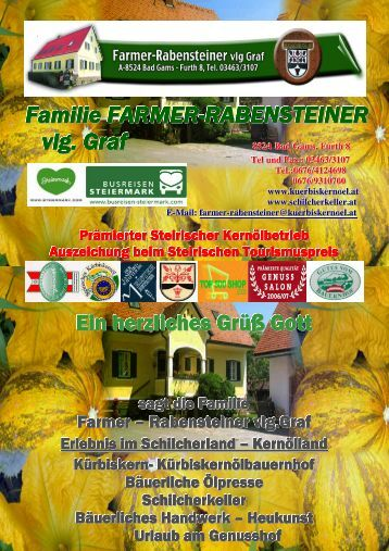 pro Person - Familie Farmer-Rabensteiner