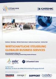 wirtschaftliche steuerung globaler business services - Catenic AG
