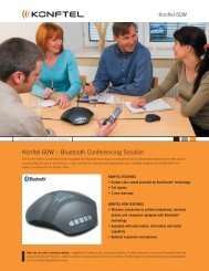 Konftel 60W – Bluetooth Conferencing Solution