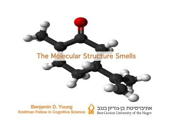 Benjamin D. Young, The Molecular Structure Theory of Smell