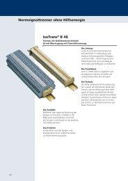 Normsignaltrenner ohne Hilfsenergie IsoTrans® B 48