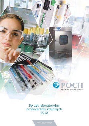 Sprzęt laboratoryjny producentów krajowych 2012