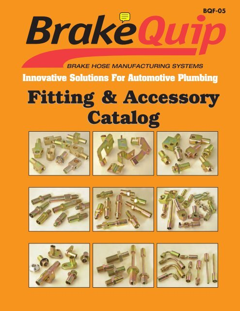 BrakeQuip HFB03 Round Style Straight Banjo Fitting with Pin 10 x 8mm