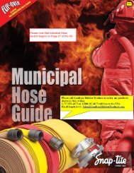 Municipal Fire Hose Guide