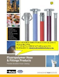 Fluoropolymer Hose & Fittings Products