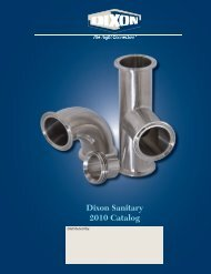 Dixon Sanitary 2010 Catalog