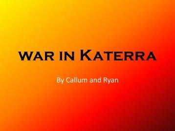 war in Katerra