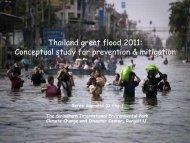 Conceptual study for prevention & mitigation