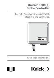 Unical® 9000(X) Probe Controller