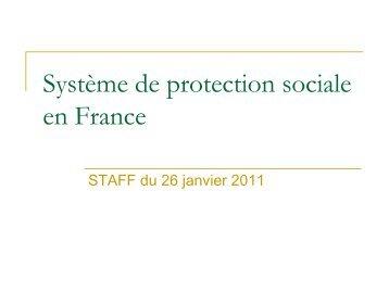 Système de protection sociale en France