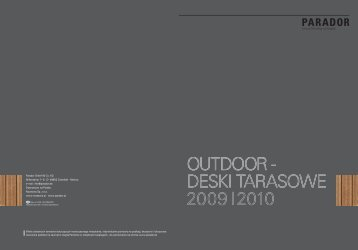 OUTDOOR - DESKI TARASOWE 2009 I2010