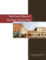NewTown Macon's Strategic Action Plan
