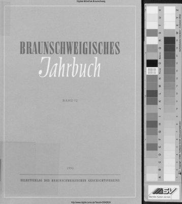 braunschweigisches jahrbuch - Digitale Bibliothek Braunschweig ...