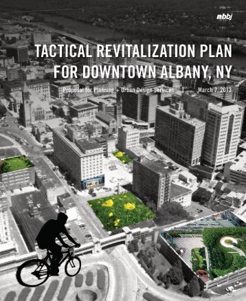 TACTICAL REVITALIZATION PLAN FOR DOWNTOWN ALBANY NY