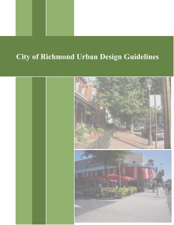 City of Richmond Urban Design Guidelines