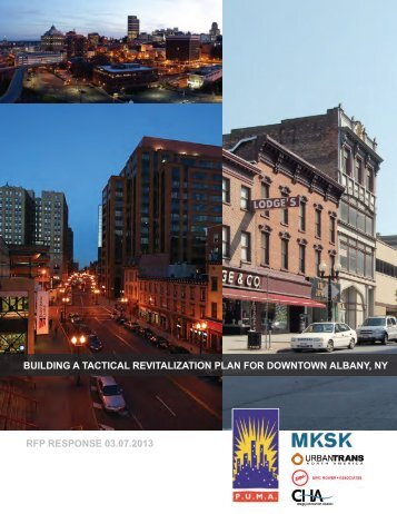 building a tactical revitalization plan for downtown albany