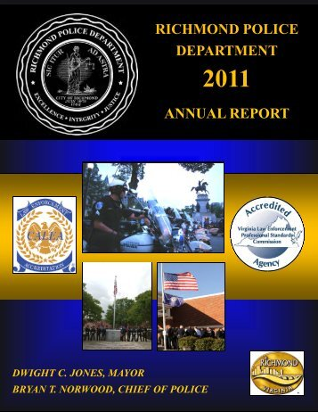 RPD 2011 Annual Report.pub - City of Richmond