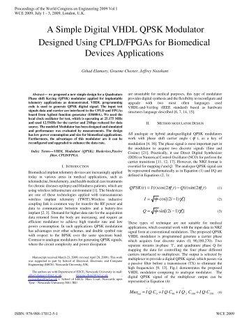 A Simple Digital VHDL QPSK Modulator Designed Using CPLD ...