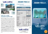 Brochure Keramit Press Lf - Nobil-Metal