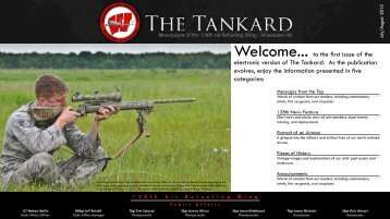 The Tankard: July-Aug. Issue - 128th Air Refueling Wing, Wisconsin ...