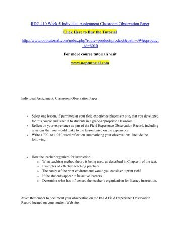 classroom observation reflection essay sample image 11 observation essay examples example of an observation essay - Observational Essay Examples