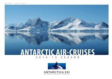 ANTARCTIC AIR-CRUISES