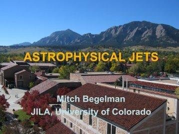 ASTROPHYSICAL JETS