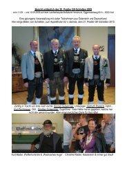 Bericht anlässlich des 20. Pradler GK-Schießen 2009 ... - cvoegler.de