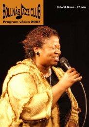 Program våren 2007