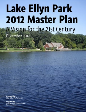 Lake Ellyn Park 2012 Master Plan