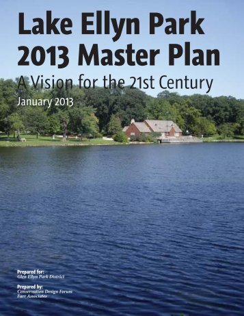 Lake Ellyn Park 2013 Master Plan