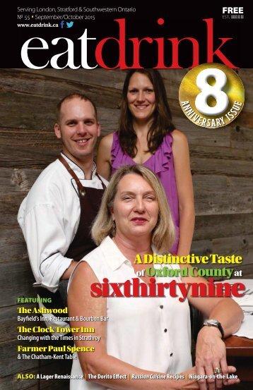 Eatdrink #55 September/October 2015 issue