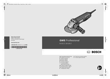GWS Professional - Ferramenta Vitalicia,lda