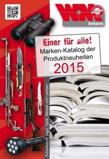 Marken-Katalog der Produktneuheiten 2015