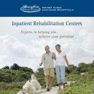 Inpatient Rehabilitation Centers