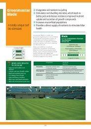Greenmaster Blade - Collier Turf Care Ltd