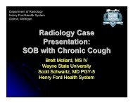 Radiology Case Presentation SOB with Chronic Cough